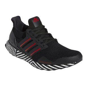 adidas Ultraboost 'Striped Boost' Black Sneakers